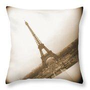 A Walk Through Paris 11 Throw Pillow