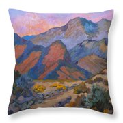 A Warm Spring Walk In The Cove Throw Pillow