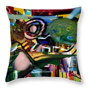 A Way To Bring The World To Tsheuvah 06 Throw Pillow