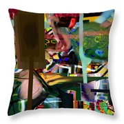 A Way To Bring The World To Tsheuvah 09 Throw Pillow