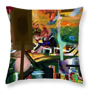 A Way To Bring The World To Tsheuvah 10 Throw Pillow