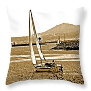 A Welcome Wind Throw Pillow