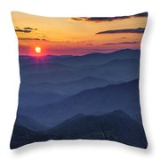 A Welcoming Back Throw Pillow
