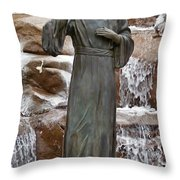 A Welcoming Jesus Throw Pillow