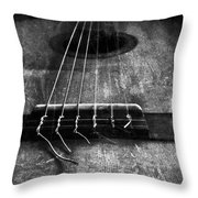 A Well Played Guitar Throw Pillow