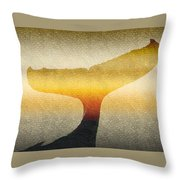 A Whales Tale Throw Pillow