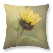 A Whisper Of A Sunflower Throw Pillow