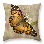 A Whisper Of Wings Throw Pillow