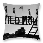 A Wild Ride Throw Pillow