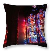 A Window In A Church Throw Pillow