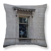 A Window In Manhattan Throw Pillow