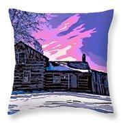 A Winter Dream 2 Throw Pillow