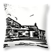 A Winter Dream 3 Throw Pillow