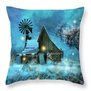 A Winter Fairytale Throw Pillow