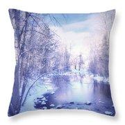 A Winter Reverie Throw Pillow