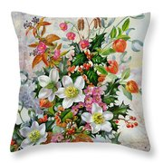 A Winter Wonderland Throw Pillow