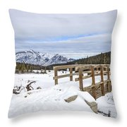 A Winter's Tale Throw Pillow
