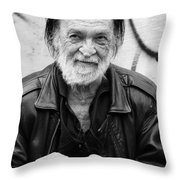 A Wise Tale  Throw Pillow