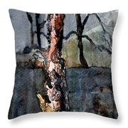 A Withering Warrior Throw Pillow