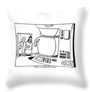 A Woman Shows A Friend A Room In Her House That Throw Pillow