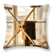 A Womans Work Is Neverdone Throw Pillow