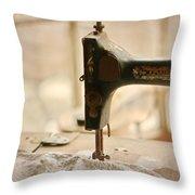 A Womans Work Throw Pillow