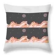 A World Untouched Throw Pillow