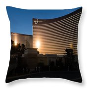 A Wynn And Encore Sunset Throw Pillow