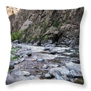 A Young Man Lays Back And Relaxes Throw Pillow