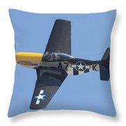 A7k Mustang Throw Pillow