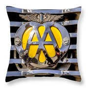 Aa Mu Emblem Throw Pillow