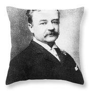 Aaron Montgomery Ward (1843-1913) Throw Pillow