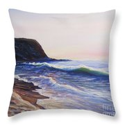 Abalone Cove Throw Pillow