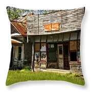 Abandonded Throw Pillow