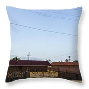 Abandoned 3 Throw Pillow