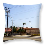 Abandoned 4 Throw Pillow
