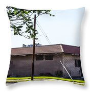 Abandoned 7 Throw Pillow