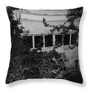 Abandoned And Old Throw Pillow