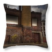 Abandoned In Hdr 2 Throw Pillow