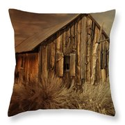 Abandoned In The West Throw Pillow