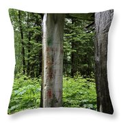 Abandoned Love Throw Pillow