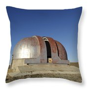 Abandoned Observatory Throw Pillow