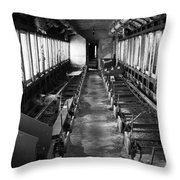 Abandoned Railcar Throw Pillow