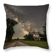 Abandoned Rt. 206 Version 2 Throw Pillow