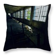 Abandoned Space IIi Throw Pillow