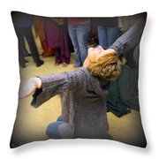 Abandonment Of Self Throw Pillow