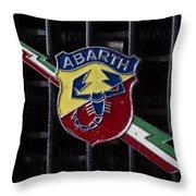 Abarth Emblem Throw Pillow