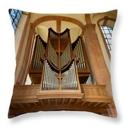 Abbey Organ Throw Pillow