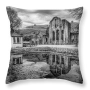 Abbey Reflections Throw Pillow
