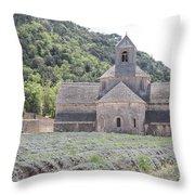 Abbey Senanque  Throw Pillow